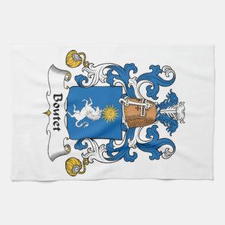 Escudo de la familia de Boutet Toalla De Cocina