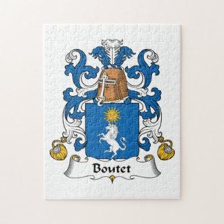 Escudo de la familia de Boutet Puzzle
