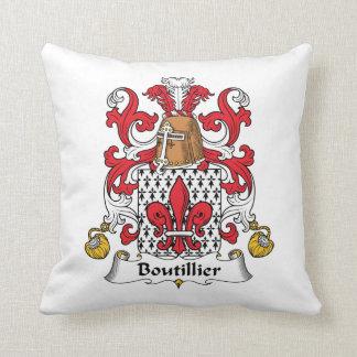 Escudo de la familia de Boutillier Almohada