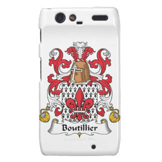 Escudo de la familia de Boutillier Droid RAZR Funda