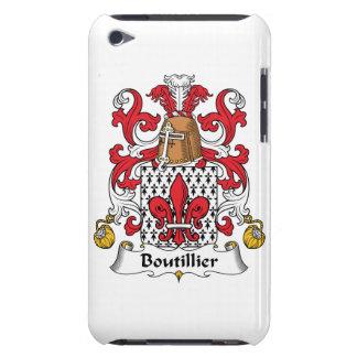 Escudo de la familia de Boutillier Barely There iPod Protectores
