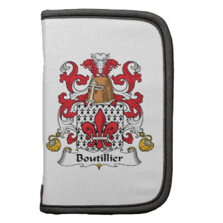 Escudo de la familia de Boutillier Planificadores