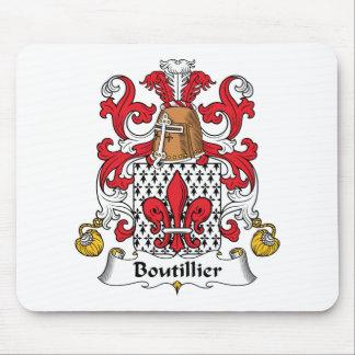 Escudo de la familia de Boutillier Tapetes De Ratón