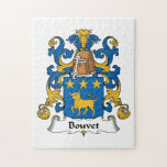 Escudo de la familia de Bouvet Puzzle