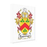 Escudo de la familia de Bouwman Lienzo Envuelto Para Galerías