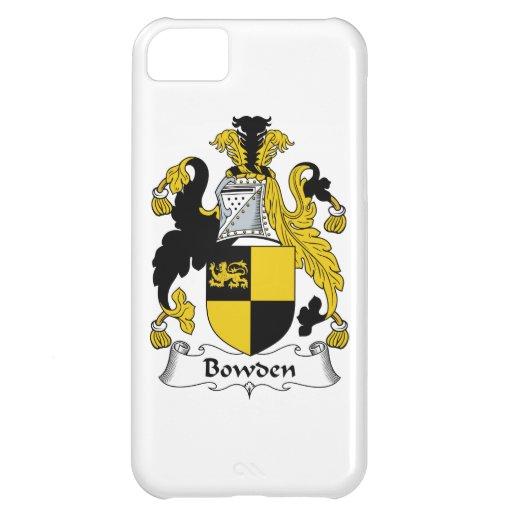 Escudo de la familia de Bowden