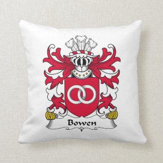Escudo de la familia de Bowen Cojín Decorativo