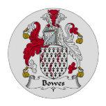 Escudo de la familia de Bowes Fichas De Póquer