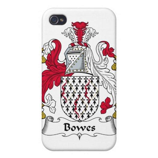 Escudo de la familia de Bowes iPhone 4 Cárcasas