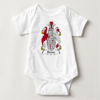 Escudo de la familia de Bowes Mameluco De Bebé