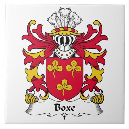 Escudo de la familia de Boxe Tejas