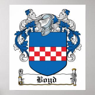 Escudo de la familia de Boyd Impresiones