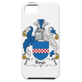 Escudo de la familia de Boyd iPhone 5 Carcasa