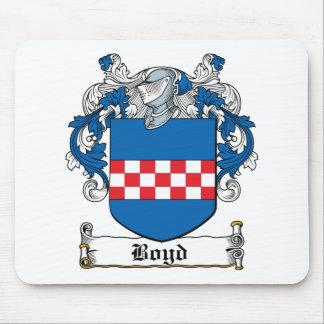 Escudo de la familia de Boyd Tapetes De Ratón