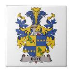 Escudo de la familia de Boye Tejas Cerámicas