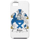 Escudo de la familia de Boyes iPhone 5 Case-Mate Fundas