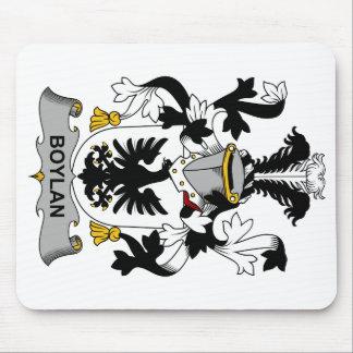 Escudo de la familia de Boylan Alfombrillas De Raton