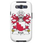 Escudo de la familia de Boyle Samsung Galaxy S3 Cobertura
