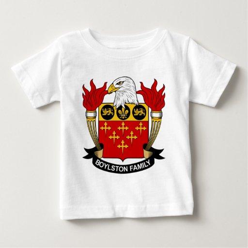 Escudo de la familia de Boylston Camisas