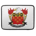 Escudo de la familia de Boylston Fundas Para Macbooks