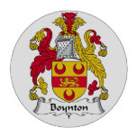 Escudo de la familia de Boynton Fichas De Póquer