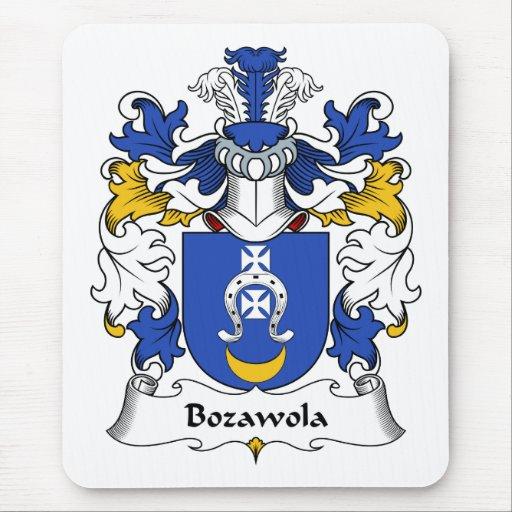 Escudo de la familia de Bozawola Alfombrillas De Ratón