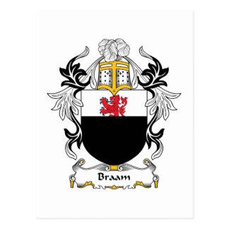 Escudo de la familia de Braam Postal