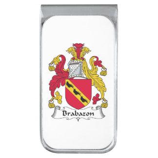Escudo de la familia de Brabazon Clip Para Billetes Plateado