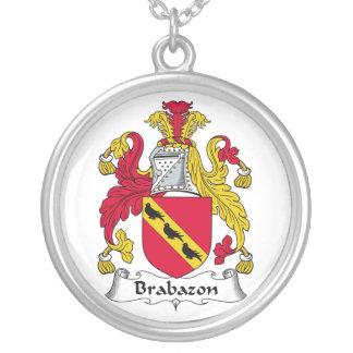 Escudo de la familia de Brabazon Colgante Redondo