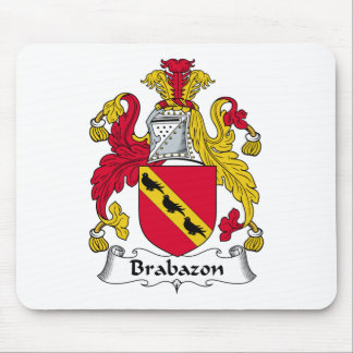 Escudo de la familia de Brabazon Mouse Pads