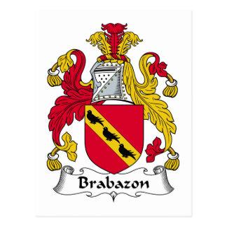 Escudo de la familia de Brabazon Postales