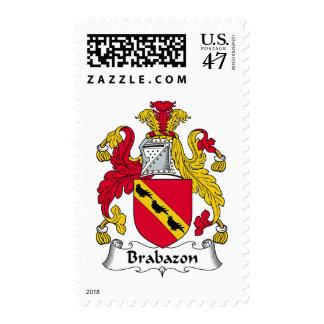Escudo de la familia de Brabazon Sellos Postales