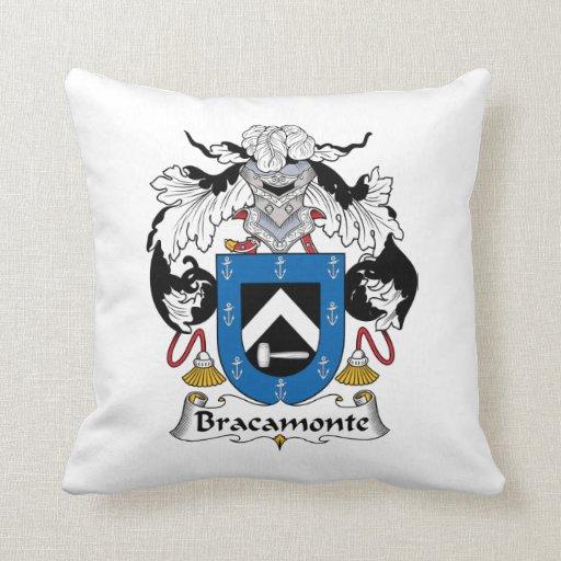 Escudo de la familia de Bracamonte Almohadas