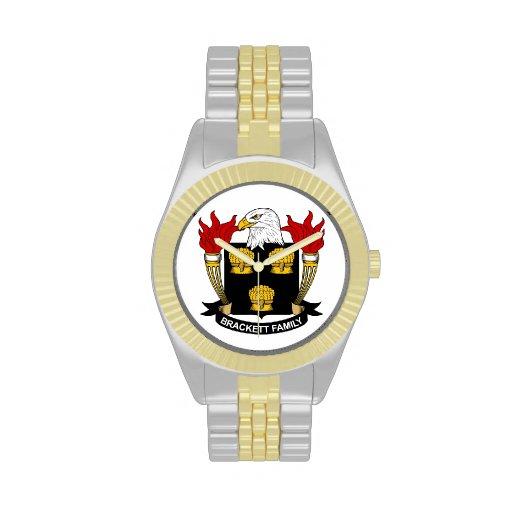 Escudo de la familia de Brackett Reloj