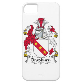 Escudo de la familia de Bradburn iPhone 5 Cárcasas