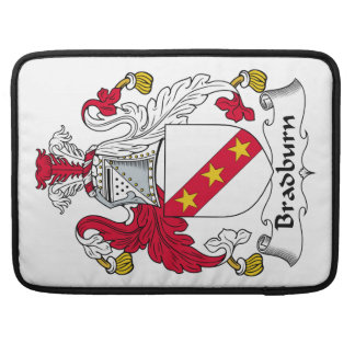 Escudo de la familia de Bradburn Funda Para Macbooks