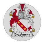 Escudo de la familia de Bradburne Fichas De Póquer