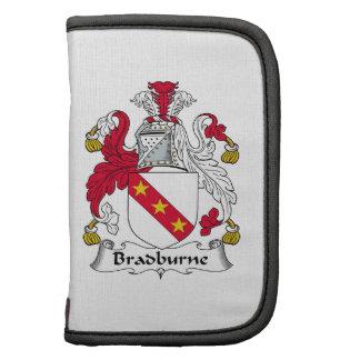 Escudo de la familia de Bradburne Organizadores