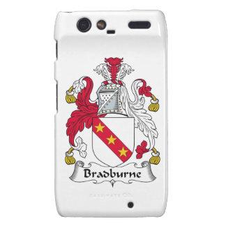 Escudo de la familia de Bradburne Droid RAZR Funda