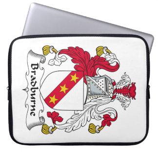 Escudo de la familia de Bradburne Funda Computadora