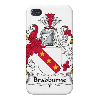 Escudo de la familia de Bradburne iPhone 4 Coberturas
