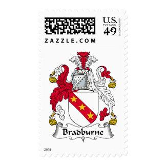 Escudo de la familia de Bradburne Envio