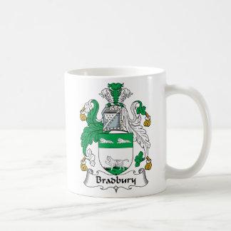 Escudo de la familia de Bradbury Taza De Café