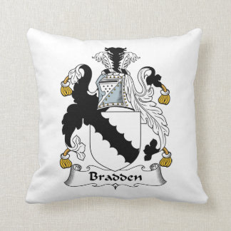 Escudo de la familia de Bradden Almohada