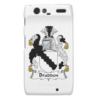 Escudo de la familia de Bradden Motorola Droid RAZR Carcasas