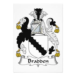 Escudo de la familia de Bradden Comunicado