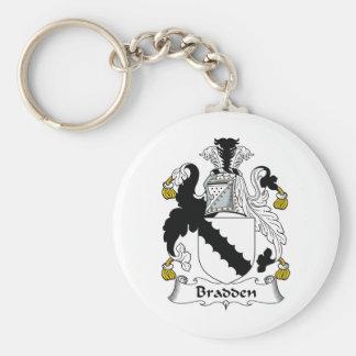 Escudo de la familia de Bradden Llavero