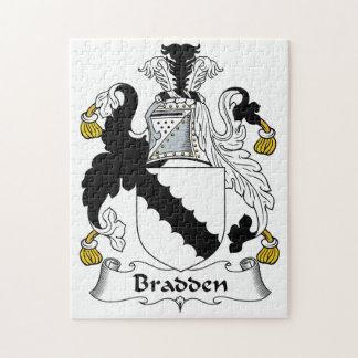 Escudo de la familia de Bradden Puzzle