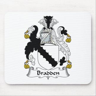 Escudo de la familia de Bradden Tapetes De Ratón