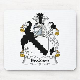 Escudo de la familia de Bradden Tapete De Ratón